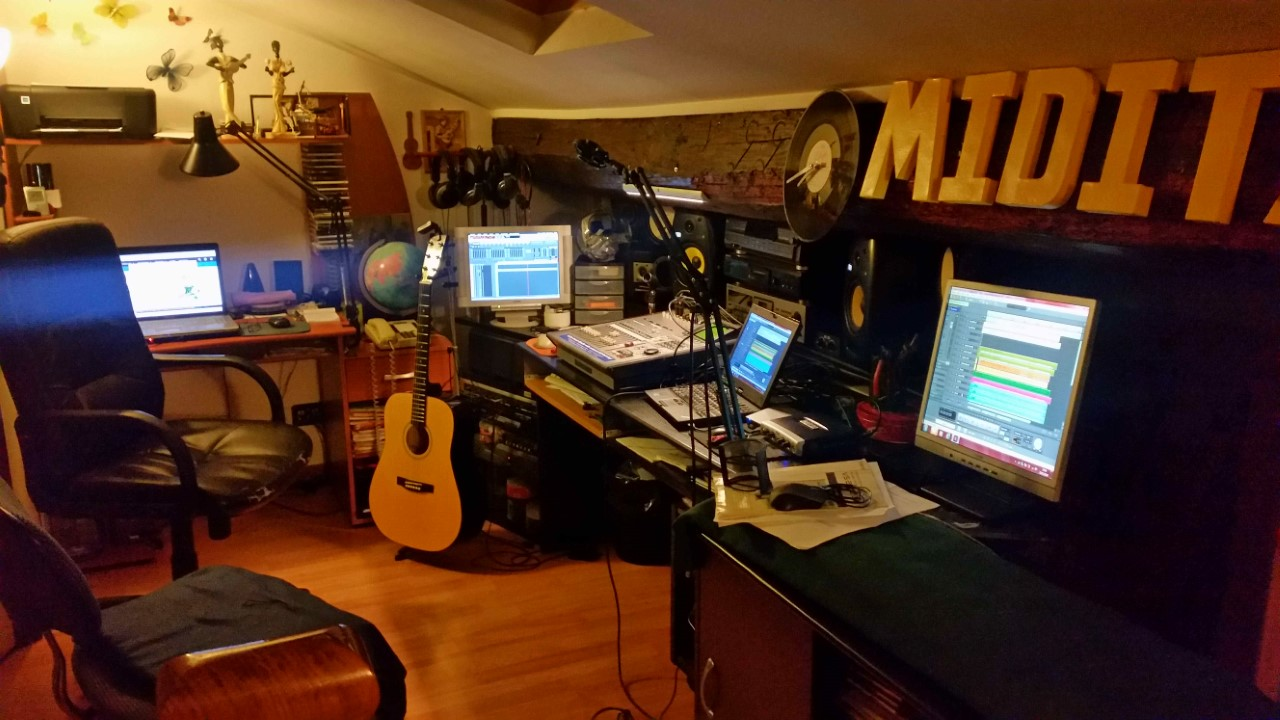 Miditar Studio D Enregistrements
